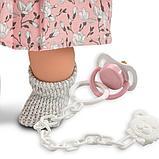 LLORENS: Кукла малышка Татьяна 33см, брюнетка в серой курточке, фото 2