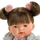 LLORENS: Кукла малышка Татьяна 33см, брюнетка в серой курточке, фото 3
