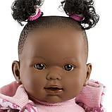 LLORENS: Кукла Николь 42см, афро в цветной курточке 42640, фото 3