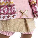 LLORENS: Кукла Николь 42см, афро в цветной курточке 42640, фото 5