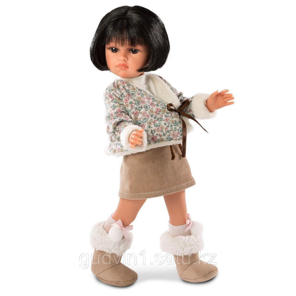 LLORENS: Кукла Оливия 37см, брюнетка 53701