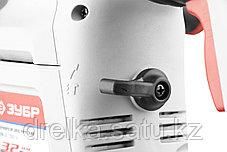Перфоратор ЗУБР ЗПВ-32-1250 ЭВК, SDS-plus, вертикальный, 3,5Дж, 730об/мин, 4000уд/мин, 1250Вт, кейс, фото 3