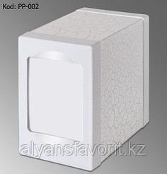 Диспенсер для настольных салфеток Престиж, белый (Турция)