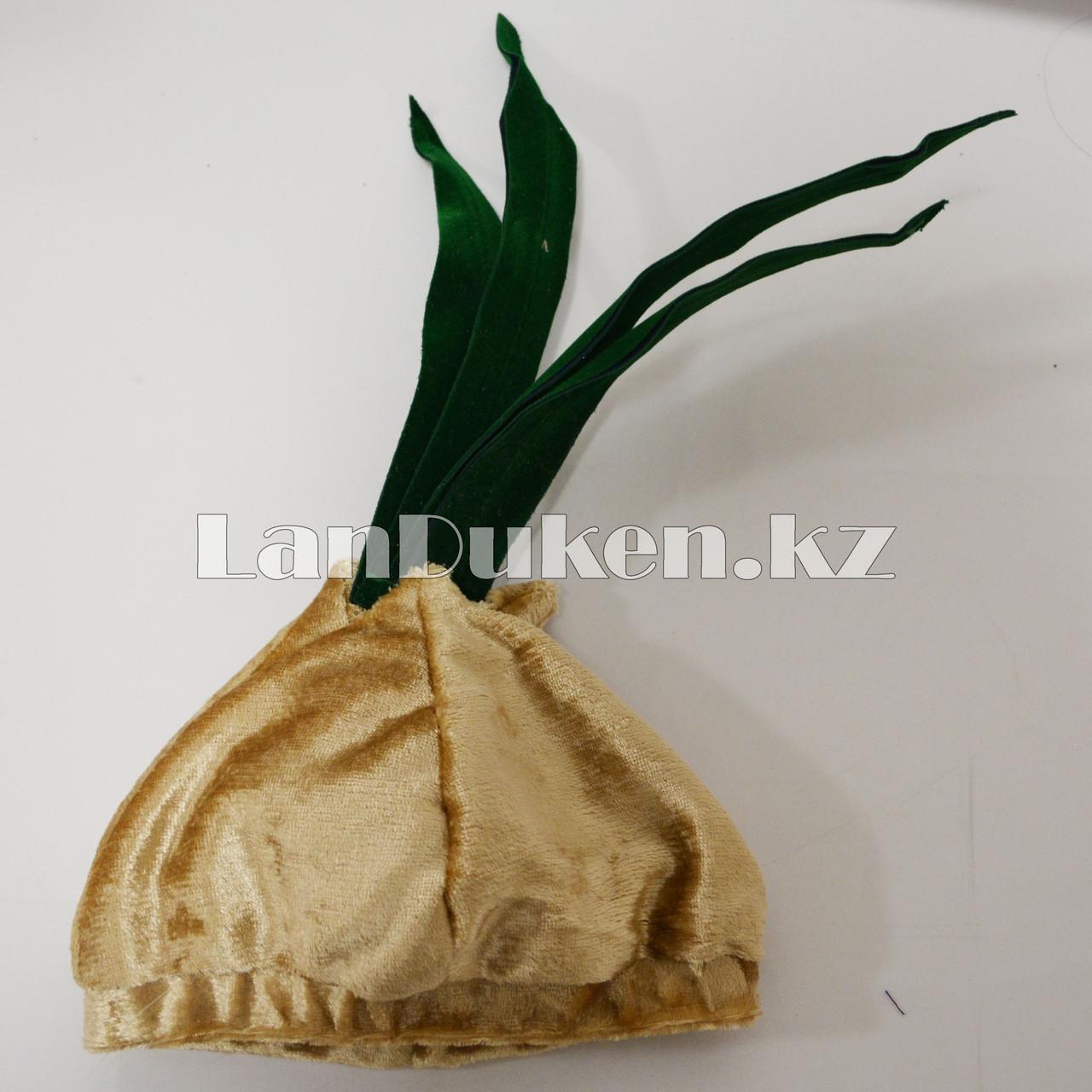 Карнавальный костюм детский овощи и фрукты 24-32р (лук) - фото 7