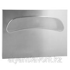 Диспенсер (держатель) для гигиенической бумаги для крышки унитаза, металлический, нержавеющая сталь , фото 2