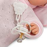 LLORENS: Кукла малышка Жоэль 35 см в роз.пижамке с одеялом, фото 5