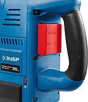Отбойный молоток электрический ЗУБР ЗМ-1500ЭК, бетонолом, SDS-Max, 25 Дж, 10.4 кг, 900-1800 уд / мин,1500 Вт, фото 3
