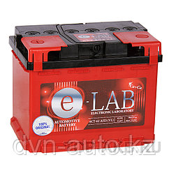 Аккумулятор автомобильный E-LAB 62R  -+