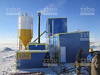Использование парогенератора ПГ-1000 для производства бетона зимой на площадке