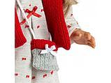 LLORENS: Кукла Мартина 40см, блондинка в красном жилете, фото 4