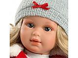 LLORENS: Кукла Мартина 40см, блондинка в красном жилете, фото 2