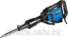 Отбойный молоток электрический ЗУБР ЗМ-50-2000 ВК, бетонолом, HEX-28, 50 Дж, 20 кг, 1400 уд/мин, 2000 Вт, АВТ