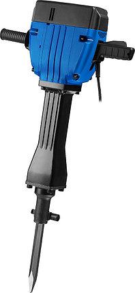 Отбойный молоток электрический ЗУБР ЗМ-60-2200 ВК, бетонолом, HEX-28, 60 Дж, 32 кг, 950 уд/мин, 2200 Вт, АВТ, фото 2