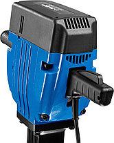 Отбойный молоток электрический ЗУБР ЗМ-60-2200 ВК, бетонолом, HEX-28, 60 Дж, 32 кг, 950 уд/мин, 2200 Вт, АВТ, фото 3