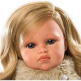 LLORENS: Кукла Оливия 37см, блондинка в синей накидке 53702, фото 2