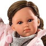 LLORENS: Кукла Хелена 42см, брюнетка в розовой курточке 54205, фото 5
