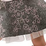 LLORENS: Кукла Хелена 42см, брюнетка в розовой курточке 54205, фото 6