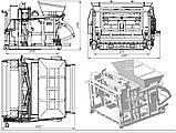 Вибропресс ФЕНИКС для ФЛ плит и блоков, фото 9