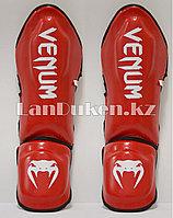 Щитки для ног Venum Elite Red
