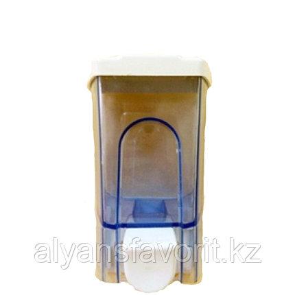 Диспенсер механический для жидкого мыла, 500 мл., фото 2