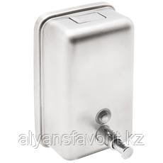 Диспенсер (дозатор) для жидкого мыла из нержавеющей стали, 1000мл.