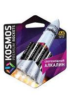 Батарейка палец Kosmos АА, LR6, 4 шт алкалин
