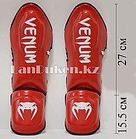 Щитки для ног Venum Elite Red XS