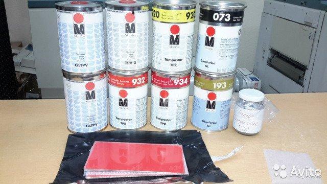 Краски для тампопечати Marabu
