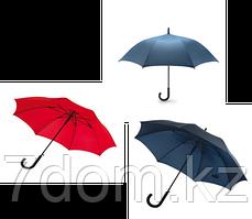 Зонт Трость Красный арт.d7400110
