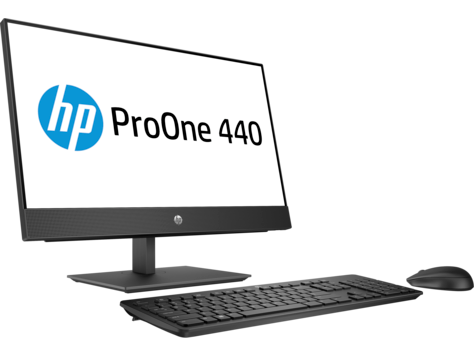 Моноблок HP 4NU44EA ProOne 440 G4 AiO NT i7-8700T 1TB 8.0GB Radeon  DVDRW i7-8700T / 8GB / 1TB HDD / DOS / DVD