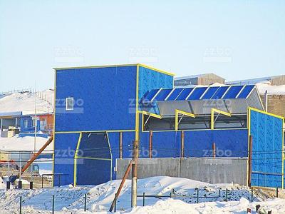 Опции для зимних бетонных заводов