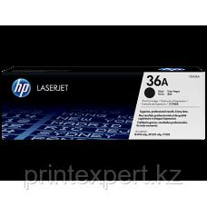 Заправка картриджа HP CB436A, фото 2