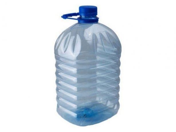 Пластиковая бутылка ПЭТ, ёмкость: 6л.