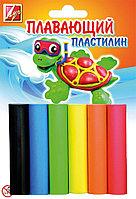 Пластилин детский Луч плавающий 6 цв