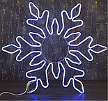 """Фигура из неона """"Снежинка"""", 75 см, 6 метров, 720 LED, 220 В, ТЁПЛЫЙ БЕЛЫЙ , фото 3"""