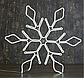"""Фигура неоновая """"Снежинка"""" 67х67 см, 720 LED, 220V, ТЕПЛЫЙ-БЕЛЫЙ , фото 3"""