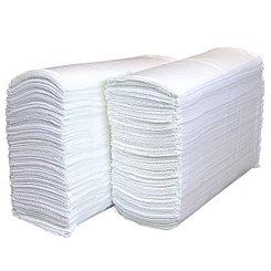 Полотенца бумажные листовые Z-укладки для диспенсера