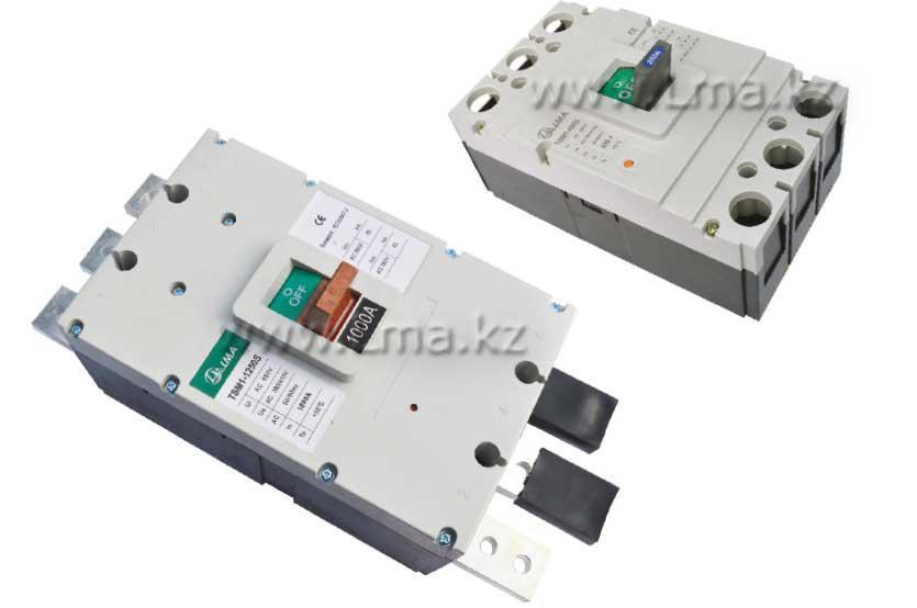 Выключатель автоматический установочный TSM1 400S (ВА 77Л-400) 3P (250A,315A,400A)
