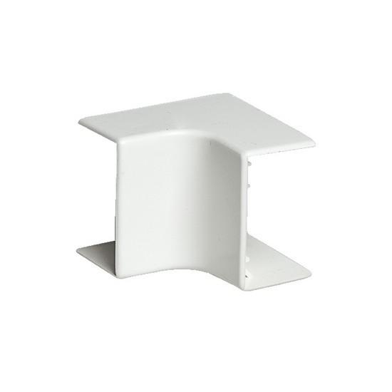 Угол внутренний РУВИНИЛ УВН-40х16 для РКК-40х16 Белый (20 штук в пакете)
