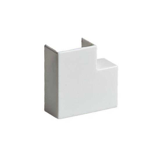Поворот на 90 градусов РУВИНИЛ ПВР-40х16 для РКК-40х16 Белый (20 штук в пакете)