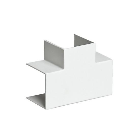 Тройник накладной 90 градусов РУВИНИЛ ТРН-15х10 для РКК-15х10 Белый (20 штук в пакете)