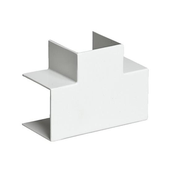 Тройник накладной 90 градусов РУВИНИЛ ТРН-80х60 для РКК-80х60 и 80х40 Белый (4 штуки в пакете)