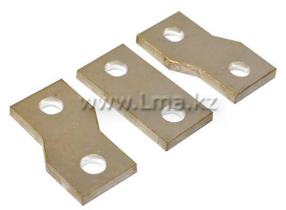 Шины переходные для установочных автоматов TSM1-400S ШПК3-77Л-400 (1 комплект-6 шт)