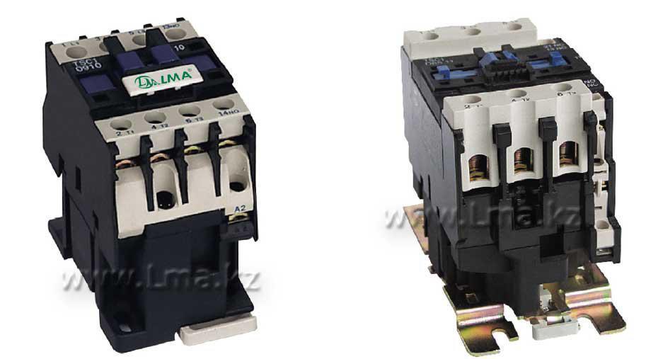 Контактор электромагнитный TSC1-D0910 (9А) КМЛ-0910 220V, 380V
