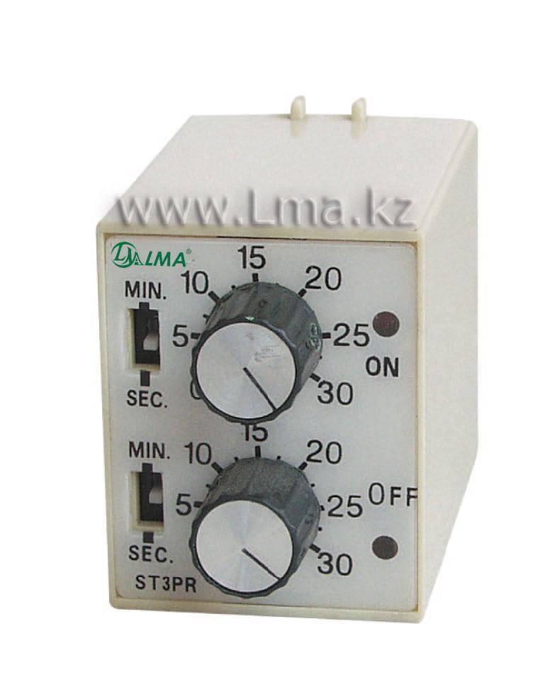 Реле времени ST3PR  РВЛ-2П2Д  AC 220V 30s/30m