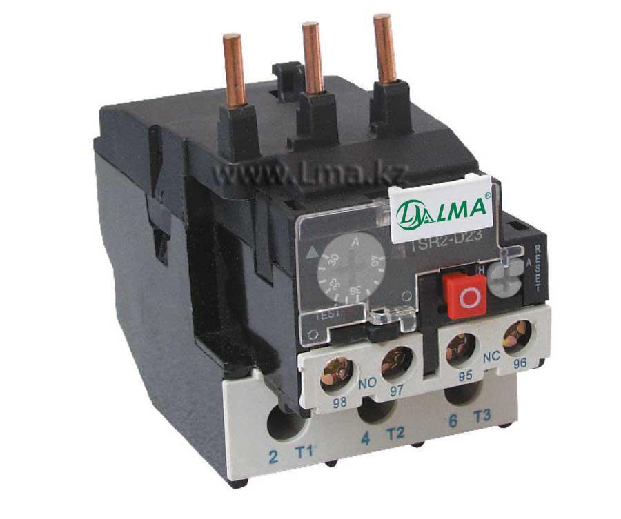 Реле тепловое TSR2-D33  РТЛ-М3355  (30-40A)