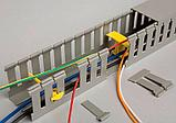 Канал кабельный перфорированный ПВХ 25х40 мм ; 40х25 мм (2 м), фото 3