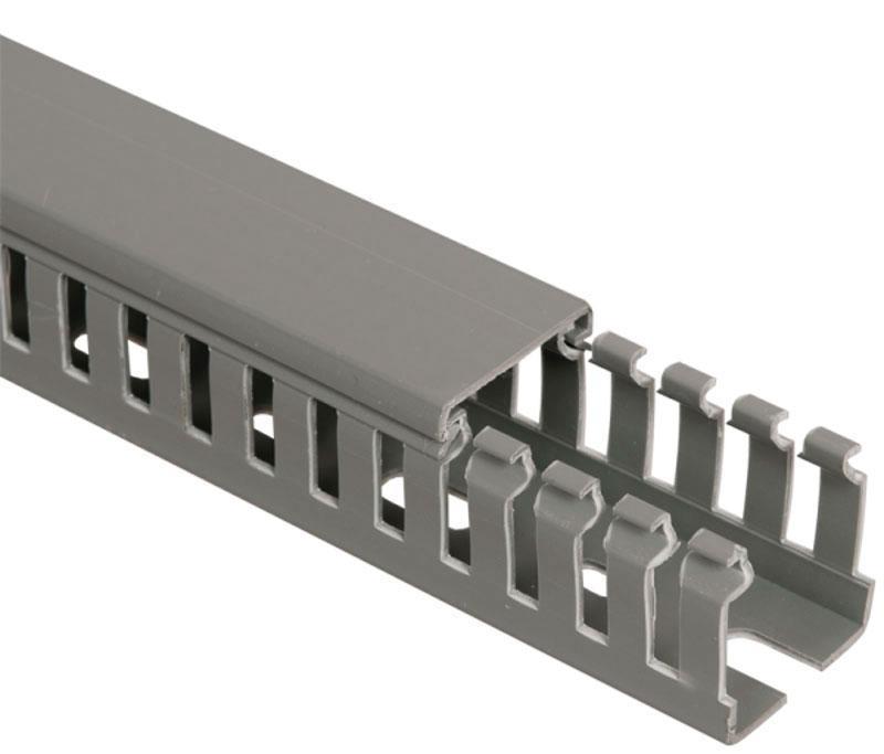 Канал кабельный перфорированный ПВХ 80х60 мм; 60х40 мм (2 м)