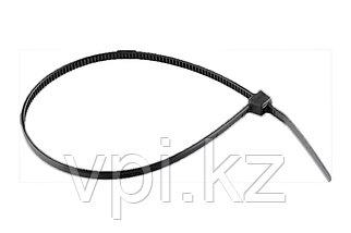 Хомут пластиковый, черный, 150*2.5мм, Сибртех