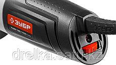 Угловая шлифмашина ЗУБР УШМ-125-1100 ТМ3, МАСТЕР, углошлифовальная, защита от перегрузки, 125 мм., фото 2